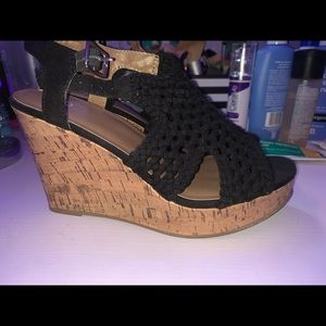knitted wedges
